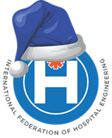 Logo for IFHE - International Federation of Hostpital Engineering